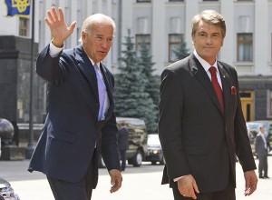Joe Biden Viktor Yushchenko