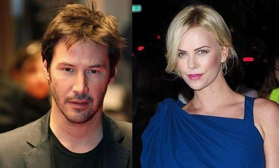 Charlize Theron y Keanu Reeves, ¿algo más que amigos?