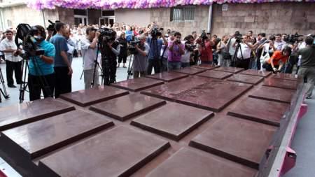 El chocolate mas grande del mundo