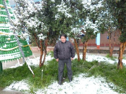 Cerro de Pasco con nieve (Rodolfo Rojas Villanueva)