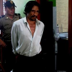 Sr. Cancino entrando al Juzgado