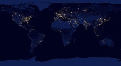 Google maps muestra el per y el mundo de noche serperuano en el sitio earth at night 2012 google pone en un mapa una composicin de imgenes tomadas por el satlite suomi npp durante la noche que muestra luces de gumiabroncs Images