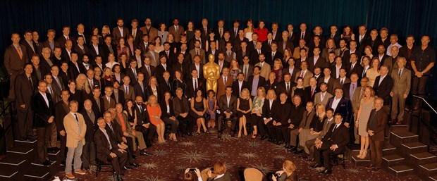 Nominees for the 85th Academy Awards® pose for a group photo at the Academy of Motion Picture Arts and Sciences' Oscar® Nominees Luncheon in Beverly Hills, California, Monday, February 4, 2013. The 85th Academy Awards will be presented on Sunday, February 24, 2013 at the Kodak Theatre at Hollywood & Highland Center®, and televised live by the ABC Television Network