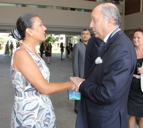 Visita Ministro Frances UPCH