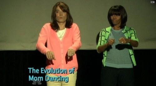 evolution of mom dancing