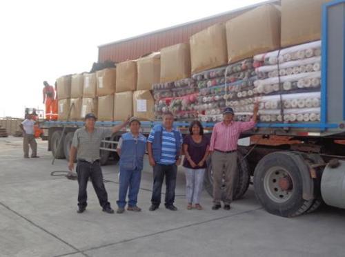 Entrega donación a Beneficiencia Pública de Arequipa