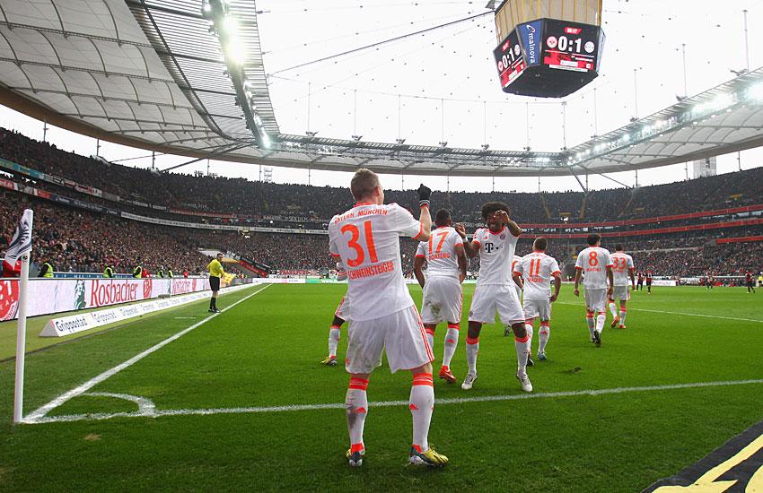 Bayern Munich campeon 2012-2013 - UEFA 11