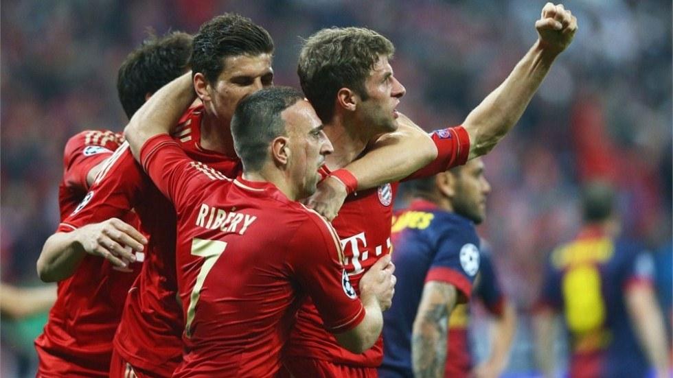 Bayern Munich vs  Barcelona - FIFA 1