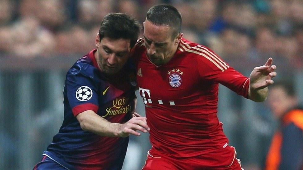 Bayern Munich vs  Barcelona - FIFA 5