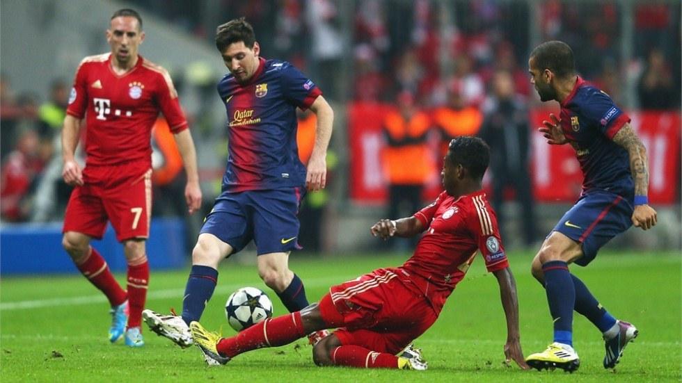 Bayern Munich vs  Barcelona - FIFA