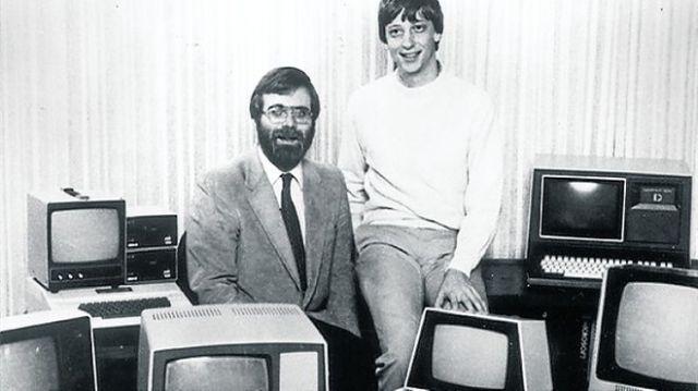 Bill Gates Paul Allen 1981