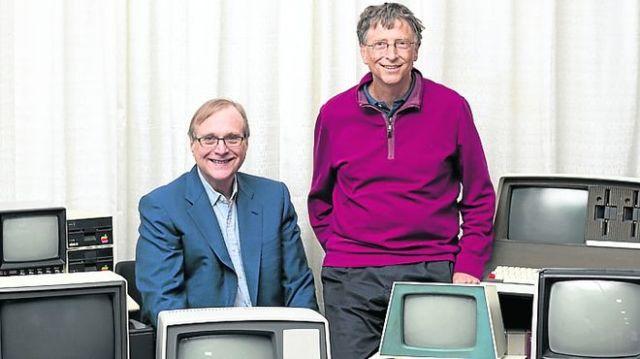 Bill Gates Paul Allen 2013