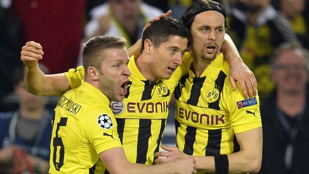 Borussia Dortmund vs Real Madrid - UEFA 3