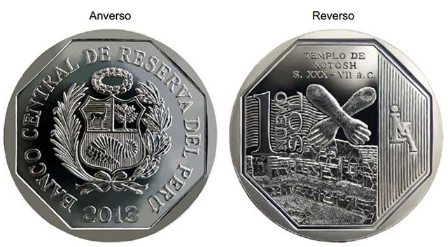 Moneda Nuevo Sol Kotosh