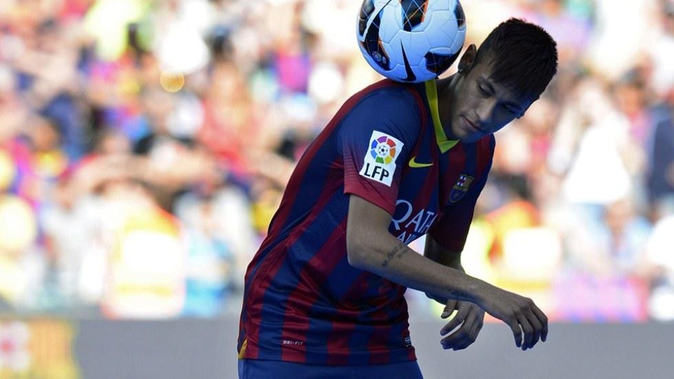 Presentacion de Neymar en el Barcelona 3