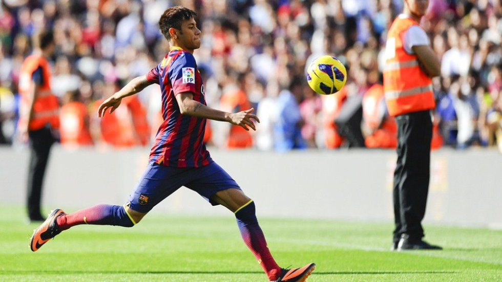 Presentacion de Neymar en el Barcelona 4