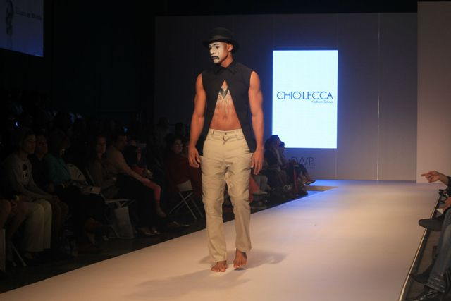 Chio leca Fashion school en pasarela Fashion Week de Panama 1