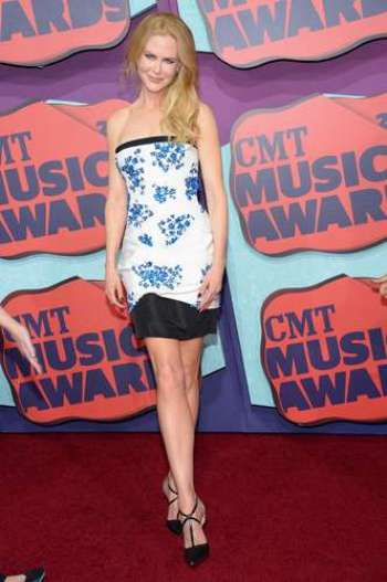 attends the 2014 CMT Music awards at the Bridgestone Arena on June 4, 2014 in Nashville, Tennessee.